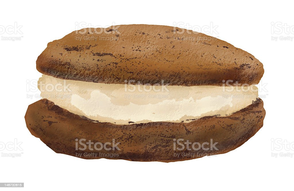Whoopee Whoopie Pie stock photo
