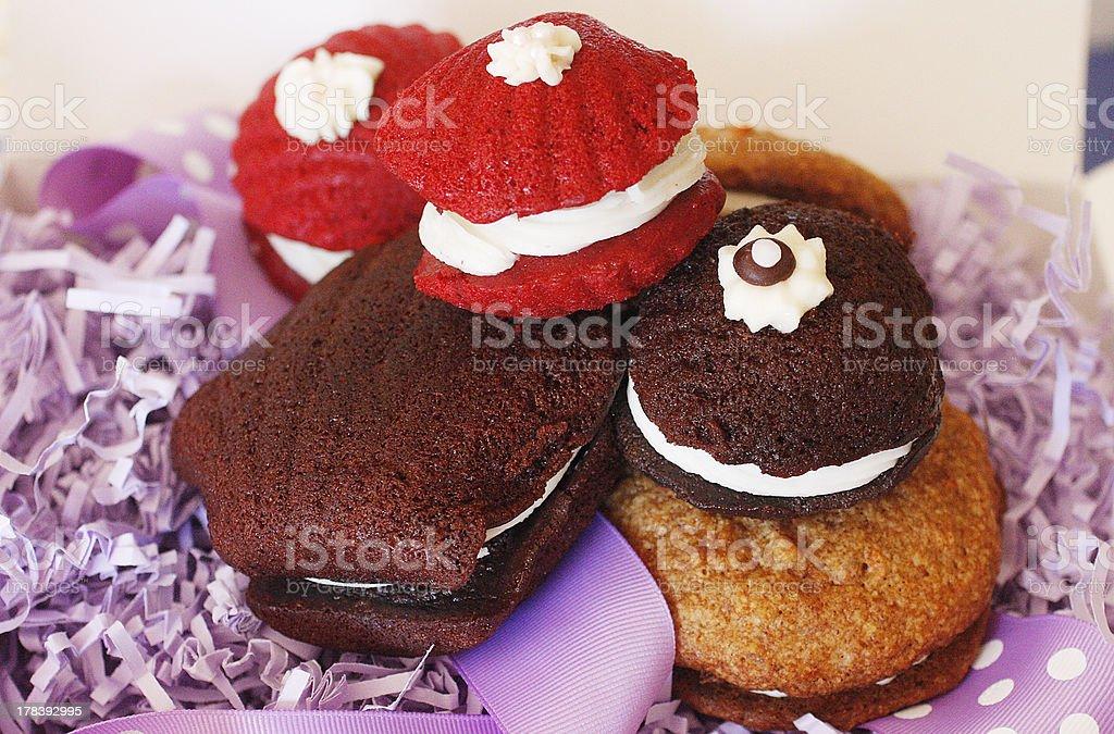 Whoopie Pies stock photo