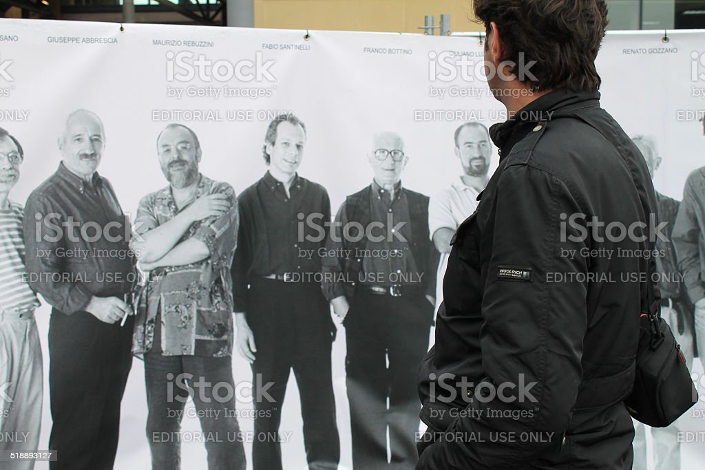 who's looking who? stock photo