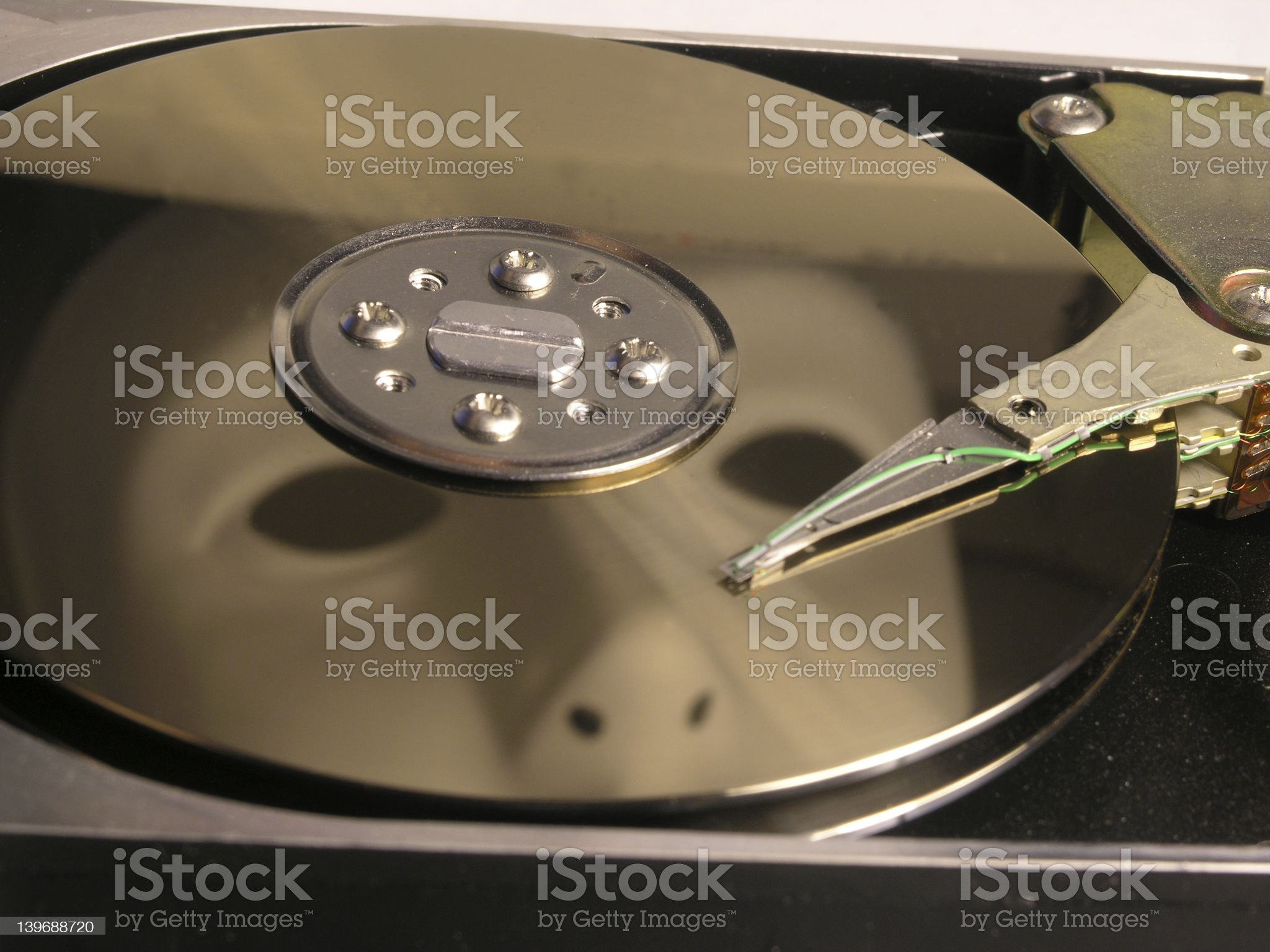 Who's Snooping in YOUR Hard Disk? royalty-free stock photo