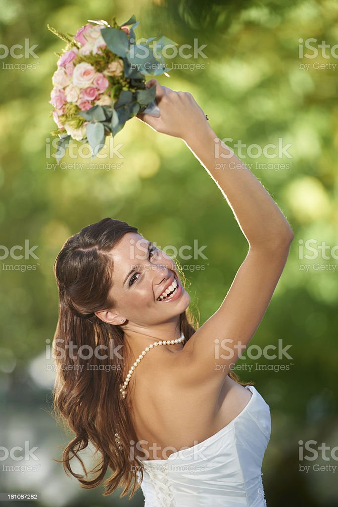 Who's the next to get hitched? stock photo