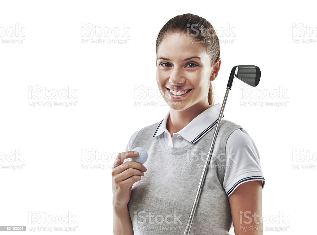 Who's up for a game of golf? stock photo