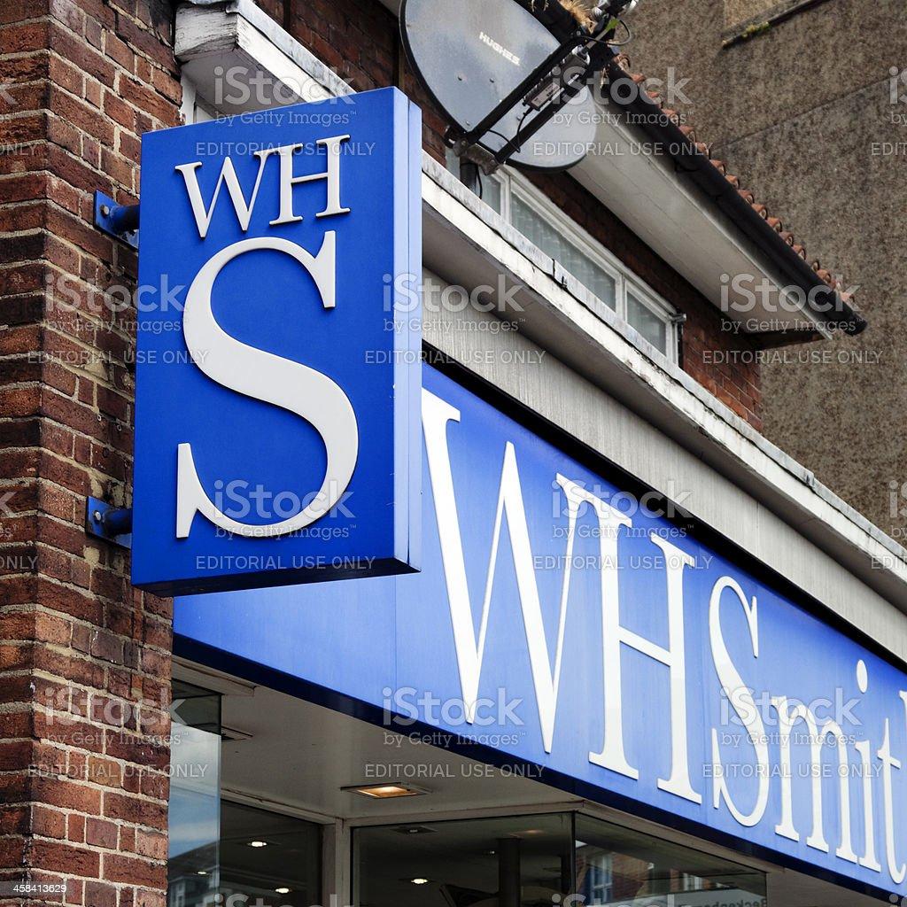 WHSmith sign royalty-free stock photo