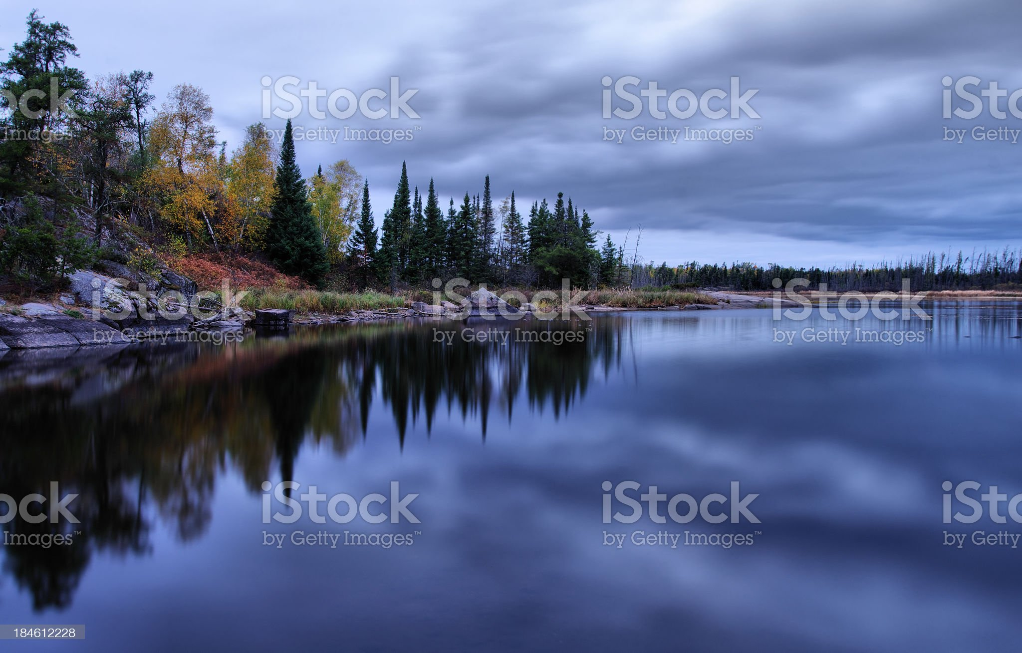 Whtieshell Provincial Park royalty-free stock photo