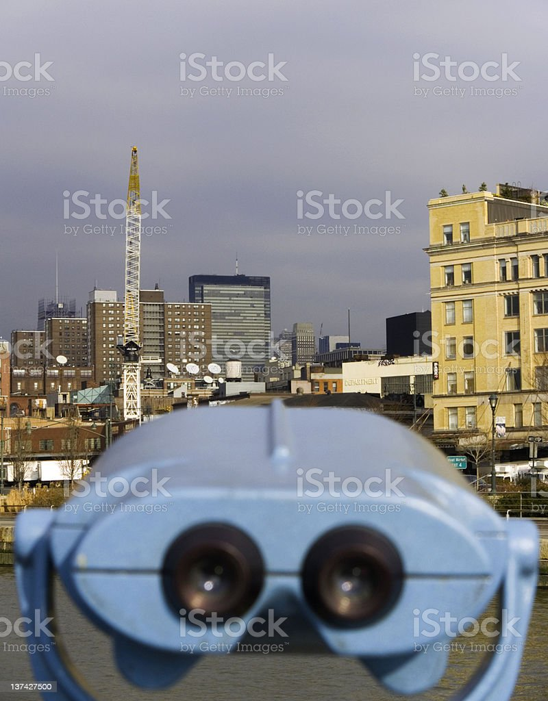 Why do I feel like some one is watching me stock photo
