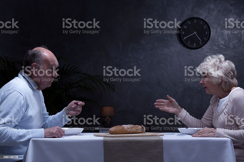 Why don't you talk to me anymore? stock photo