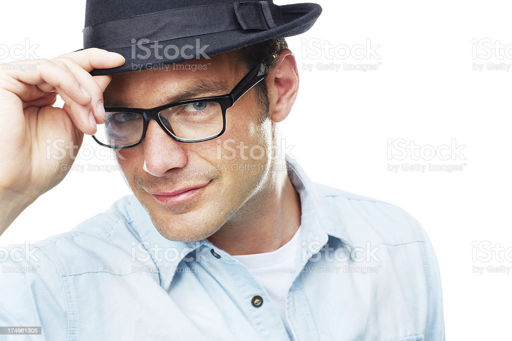 Why hello there... stock photo