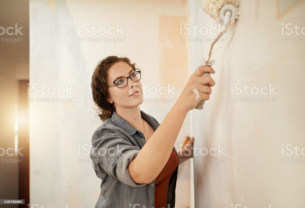 Why hire someone else when you can do it yourself? stock photo