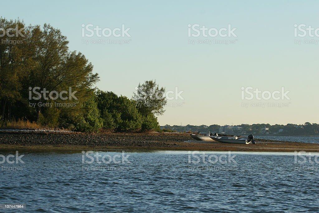 Why you should always know when it is low tide royalty-free stock photo