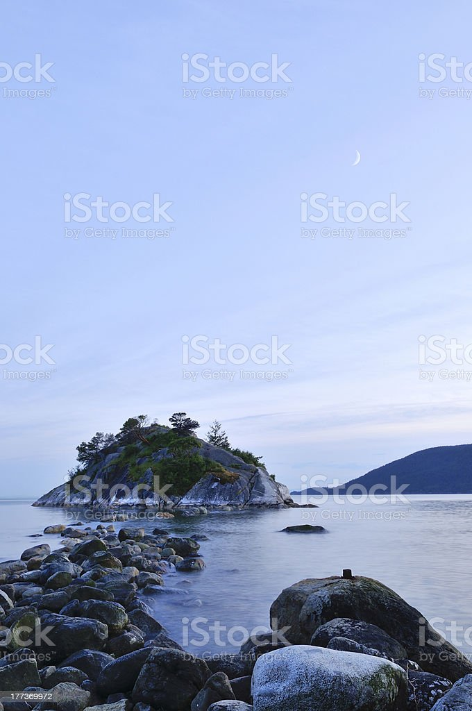 whytecliff park in west vancouver stock photo