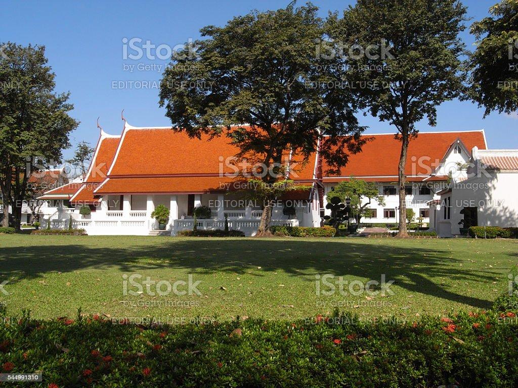 Wichai Prasit Fort stock photo