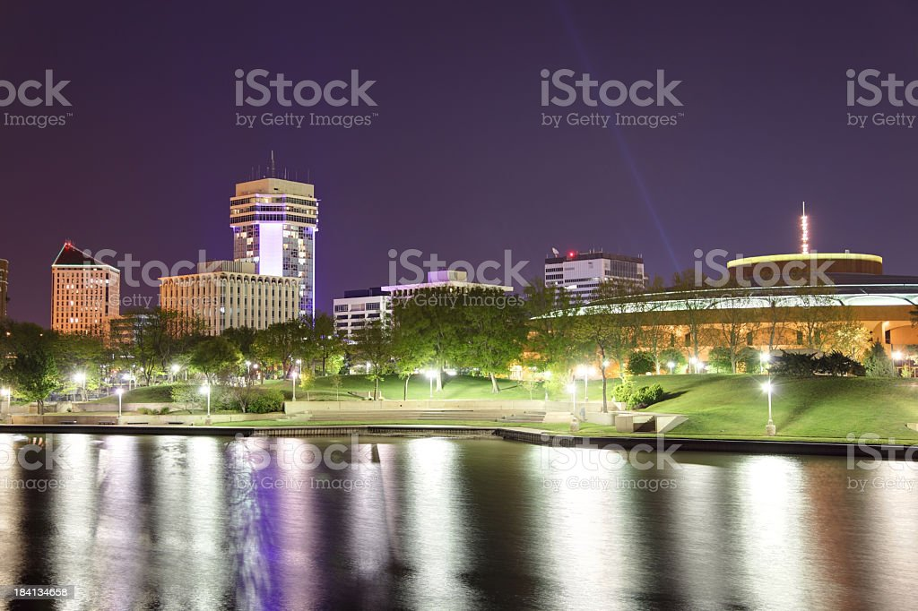 Wichita Kansas royalty-free stock photo