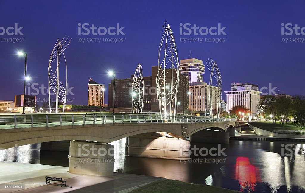 Wichita Kansas stock photo