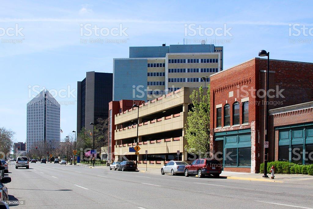 Wichita Kansas USA stock photo