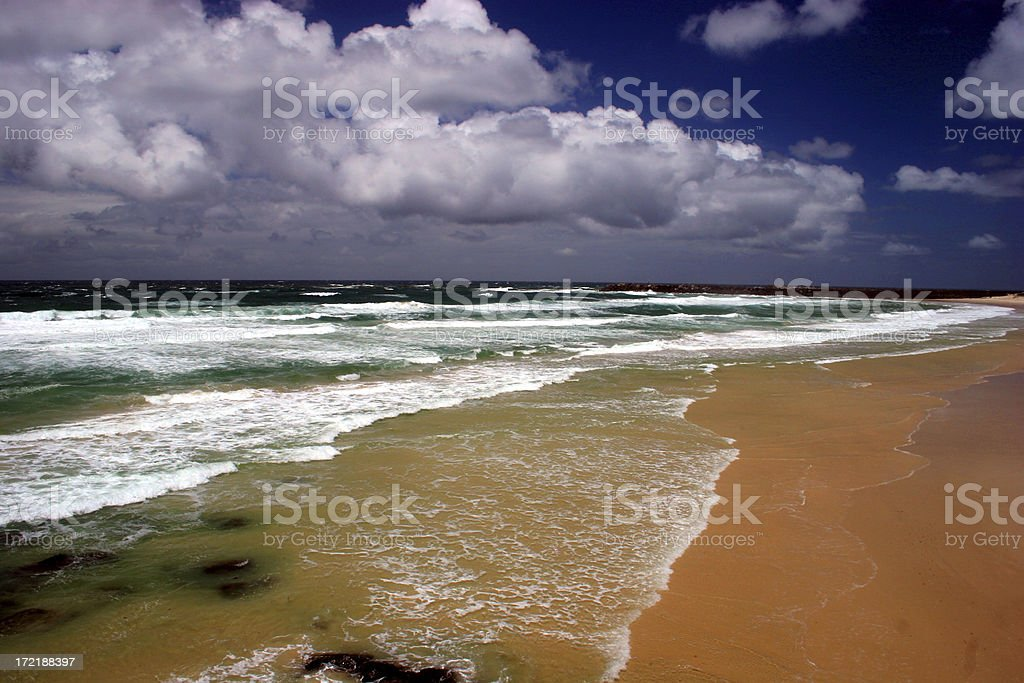 Wicked Beach stock photo