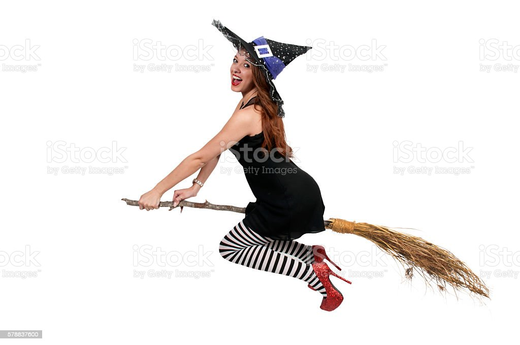 Wicked Witch stock photo