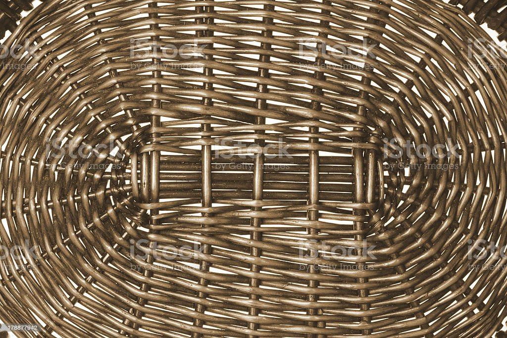 Wicker Basket royalty-free stock photo