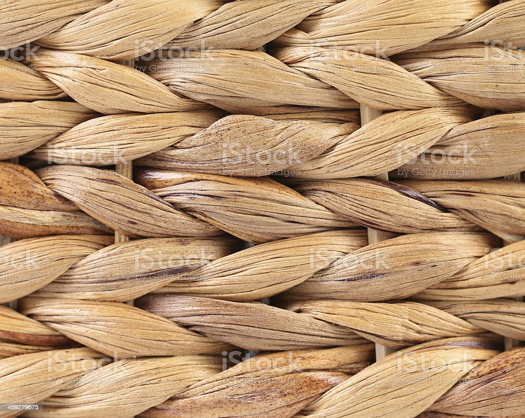 Wicker Basket texture. stock photo