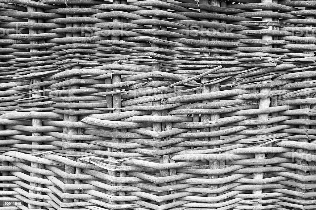 wicker cane texture royalty-free stock photo