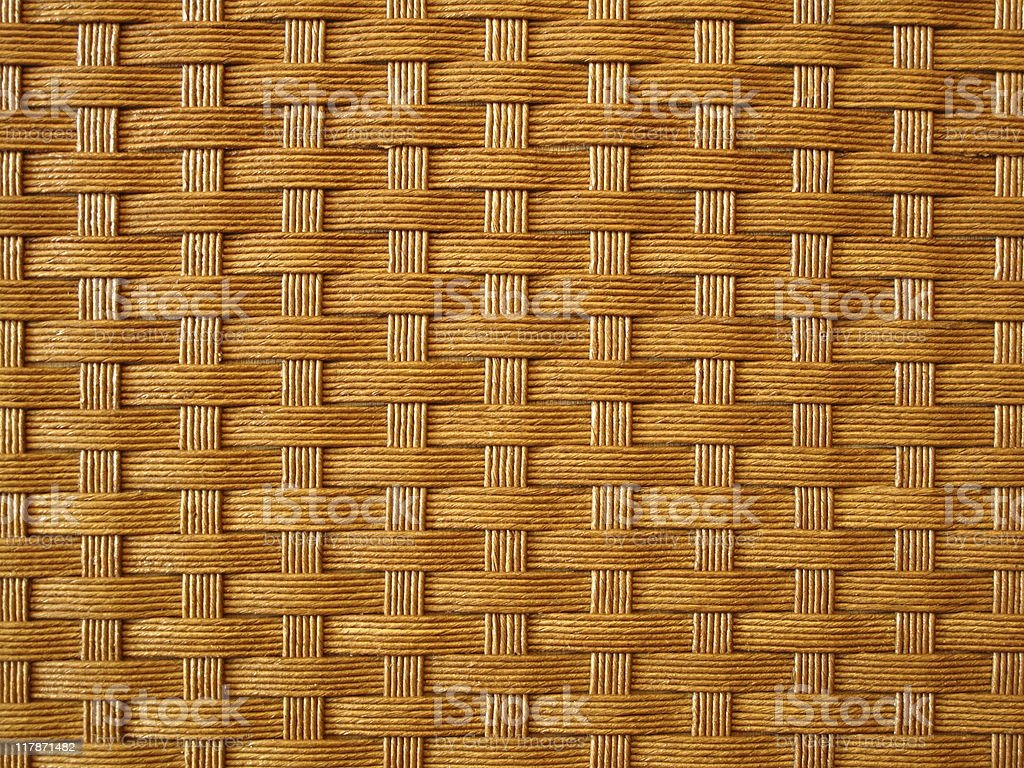 wicker mat royalty-free stock photo