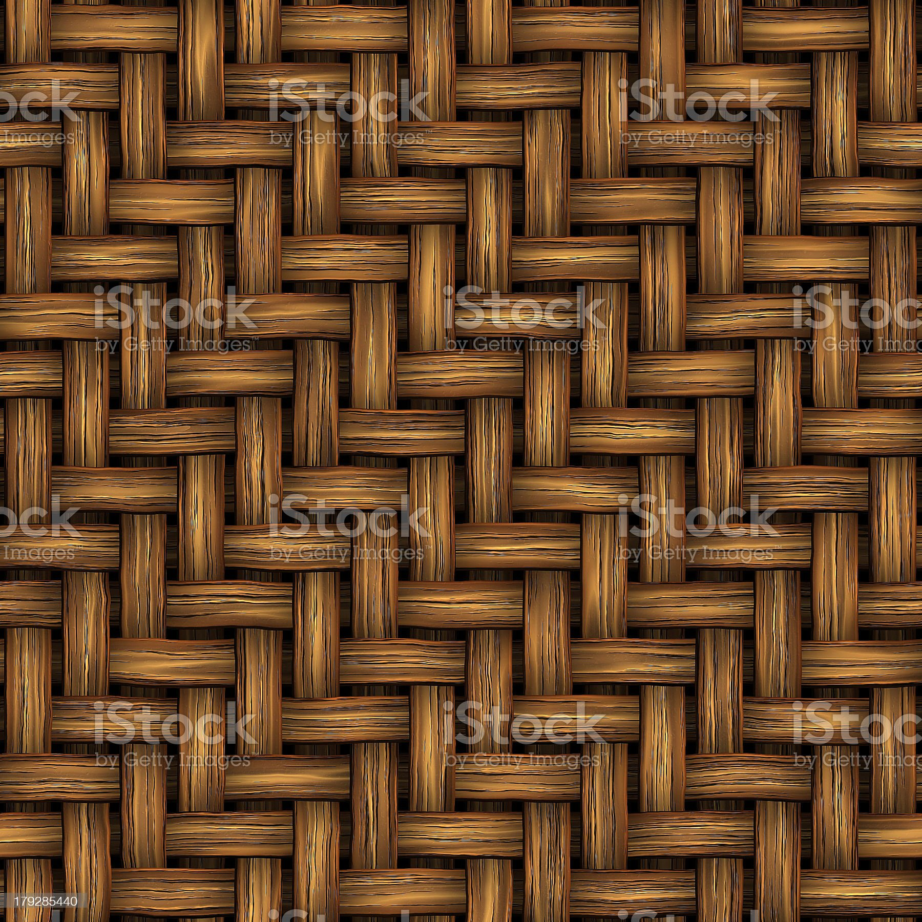 Wicker (Seamless texture) royalty-free stock photo