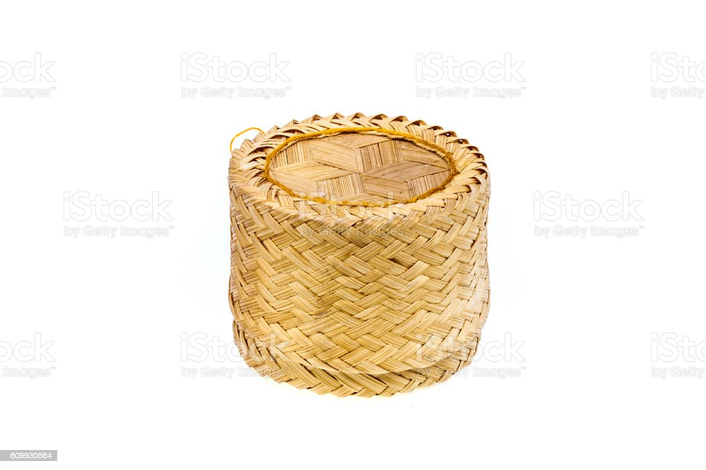 wicker rice of Thailand's North and Northeast. stock photo