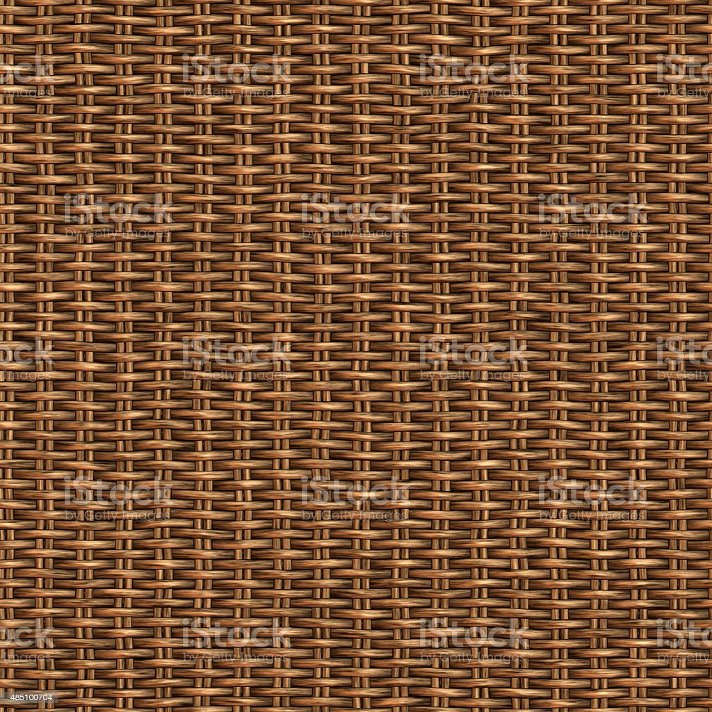 Wicker Seamless Pattern stock photo