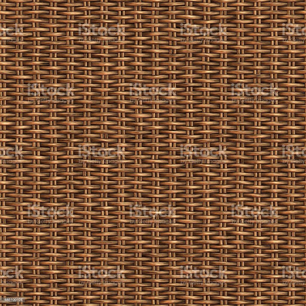 Wicker Seamless Pattern stock photo