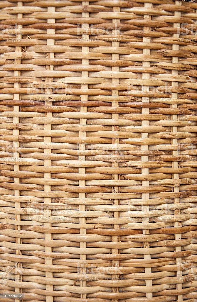 Wicker texture royalty-free stock photo