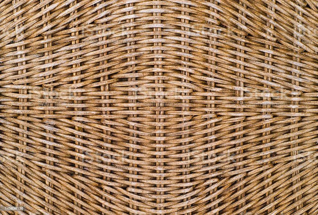Wicker Weave Texture stock photo