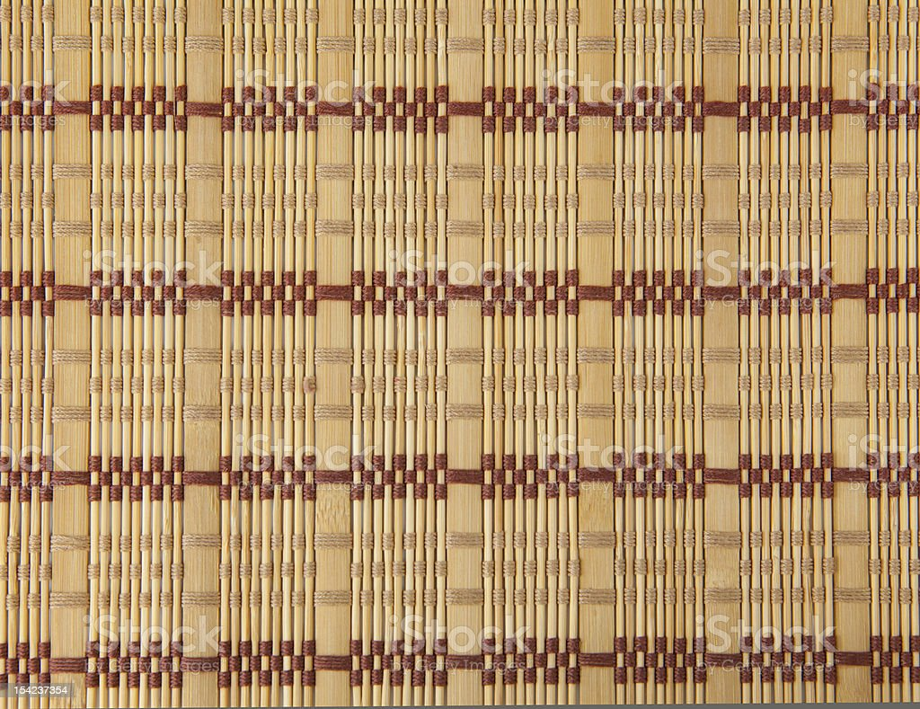 Wicker wood pattern royalty-free stock photo