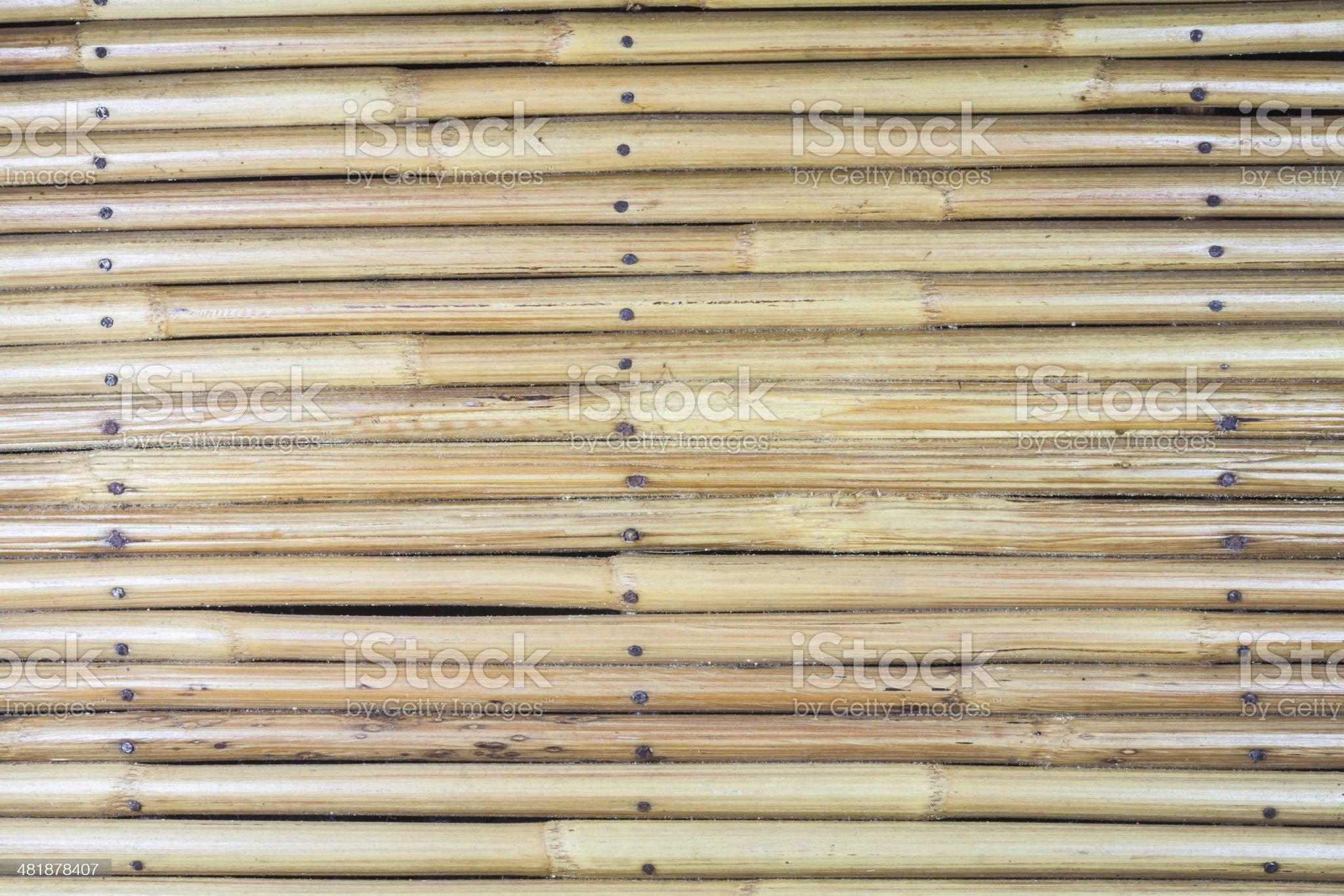 Wicker wood royalty-free stock photo