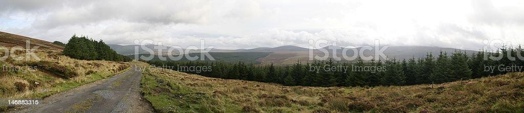 wicklow mountains stock photo