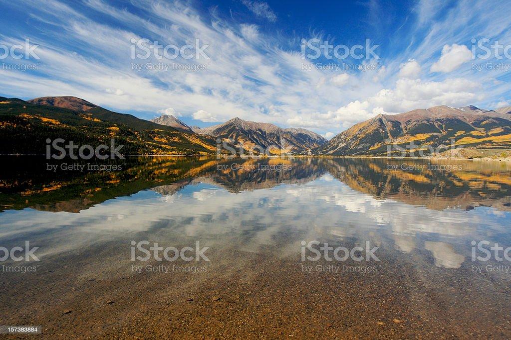 Grandangolo Aspen foto stock royalty-free