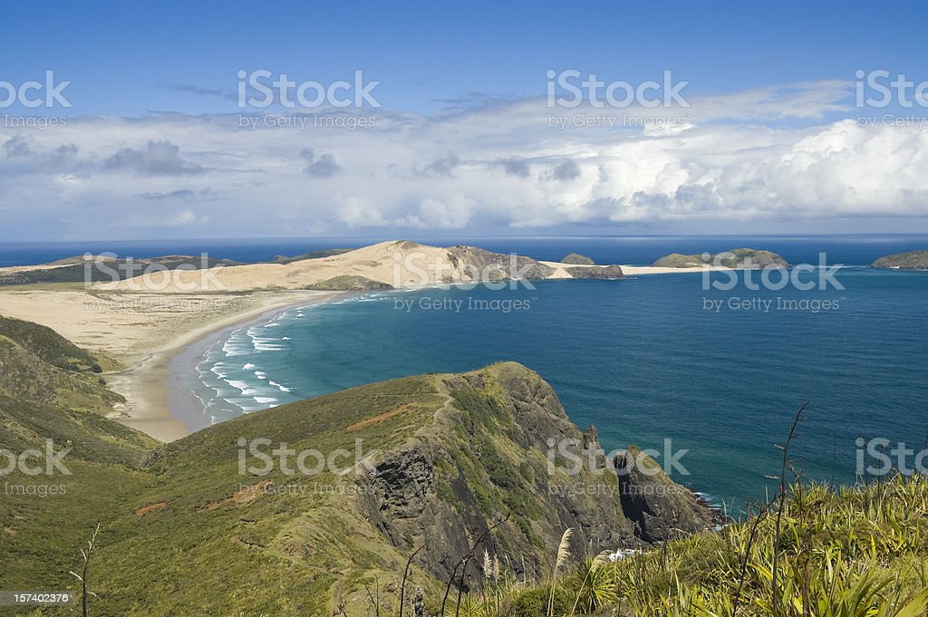 Wide Bay Over A Cliff stock photo