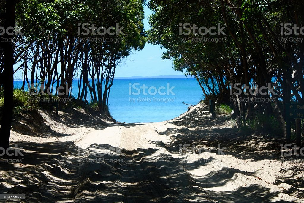 Wide Bay, Queensland Australia stock photo
