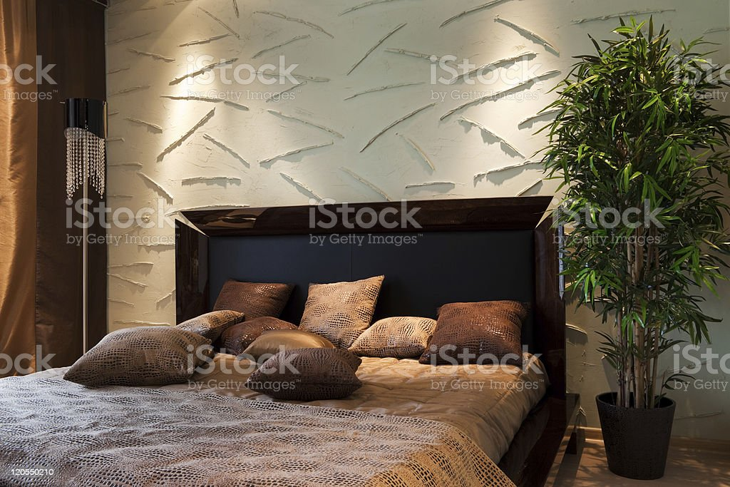 wide bed stock photo
