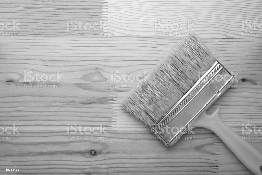 Wide brush royalty-free stock photo