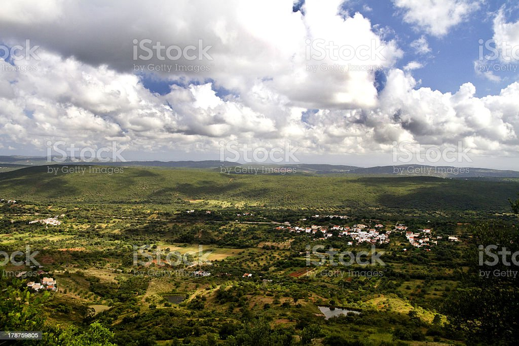 wide landscape view stock photo