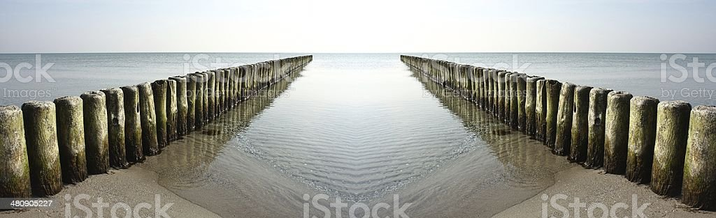 wide ocean stock photo