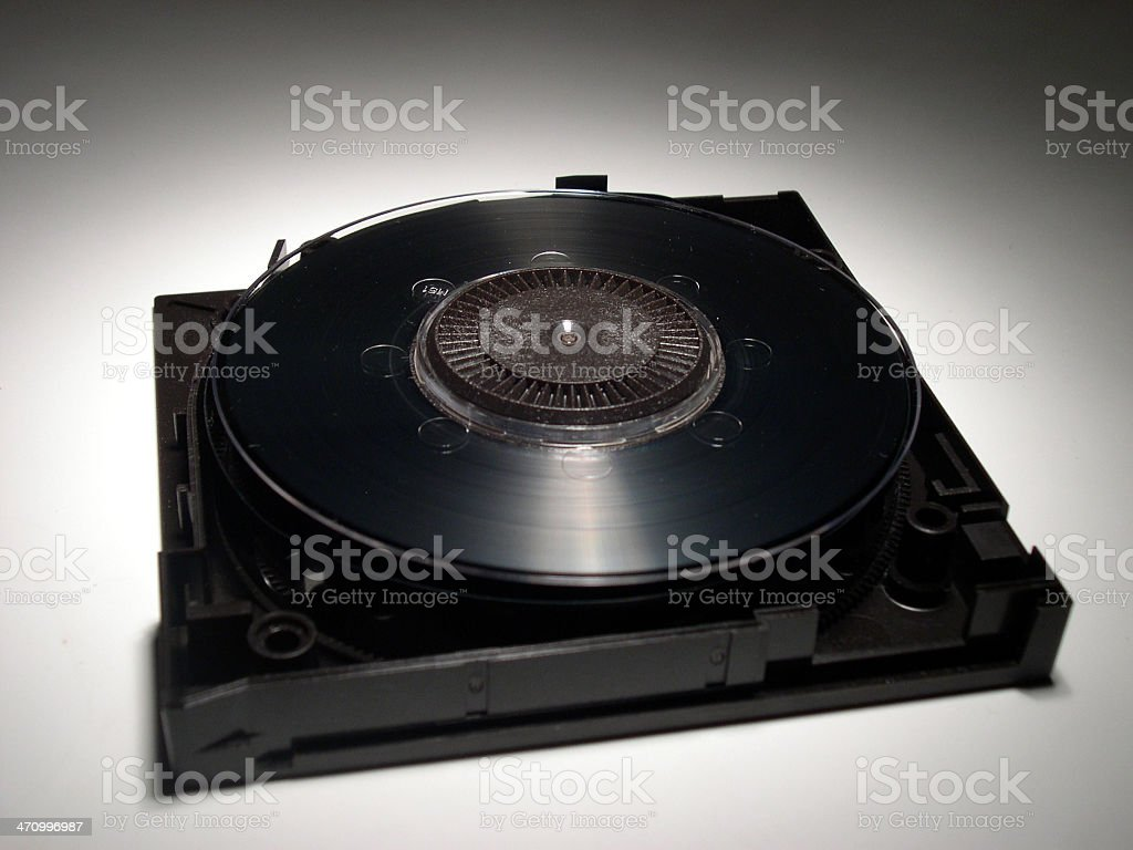 wide open tape backup stock photo