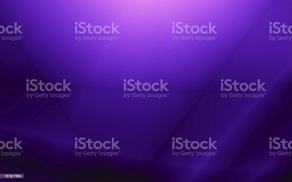 Wide screen purple abstract card design stock photo