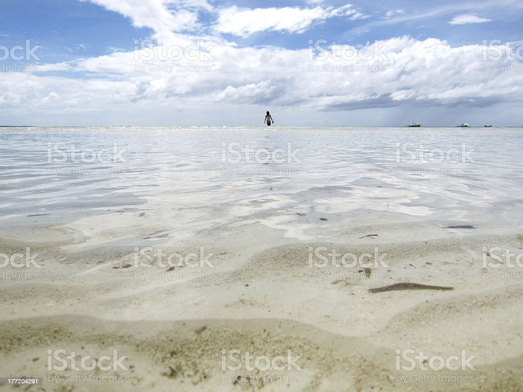 Wide Sea Surface royalty-free stock photo