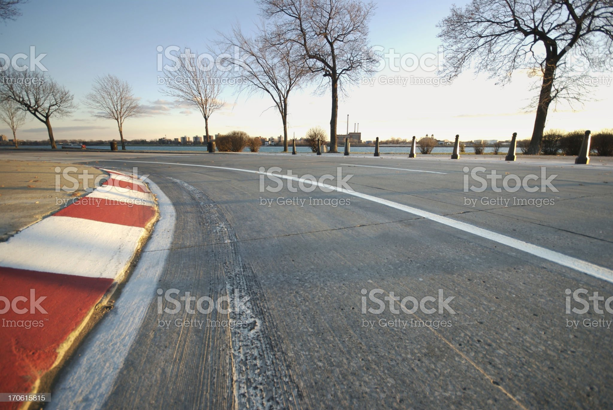 Wide Track royalty-free stock photo