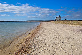Wide View of Cedar Point Lighthouse
