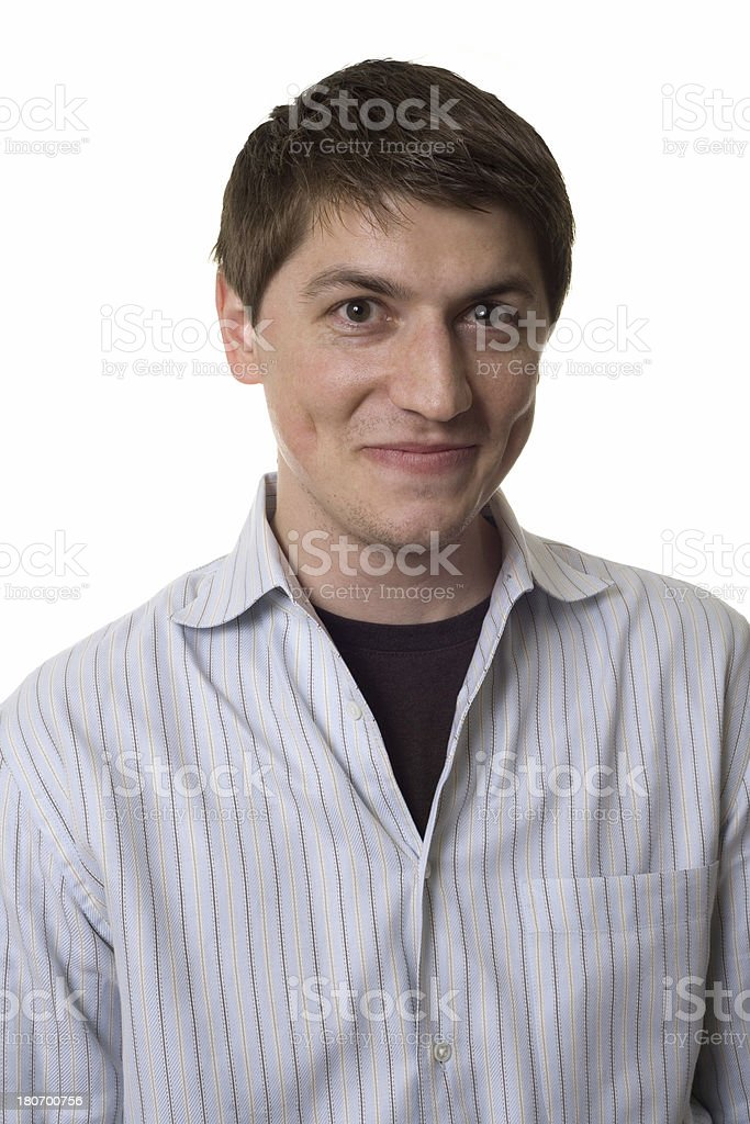wide-eyed royalty-free stock photo