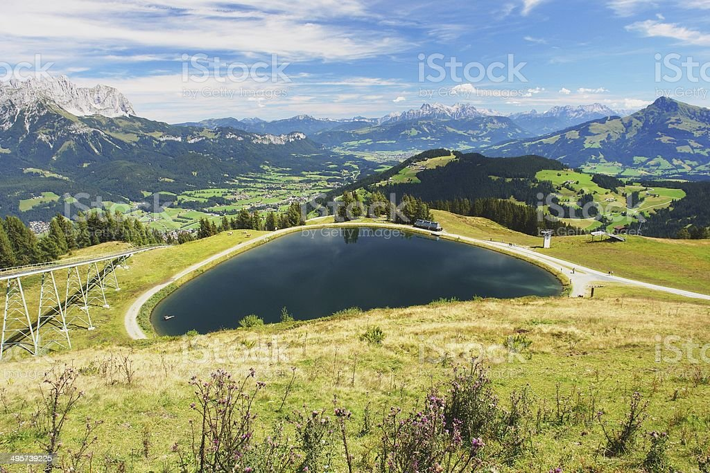 Wider Kaiser, Austrian Alps royalty-free stock photo