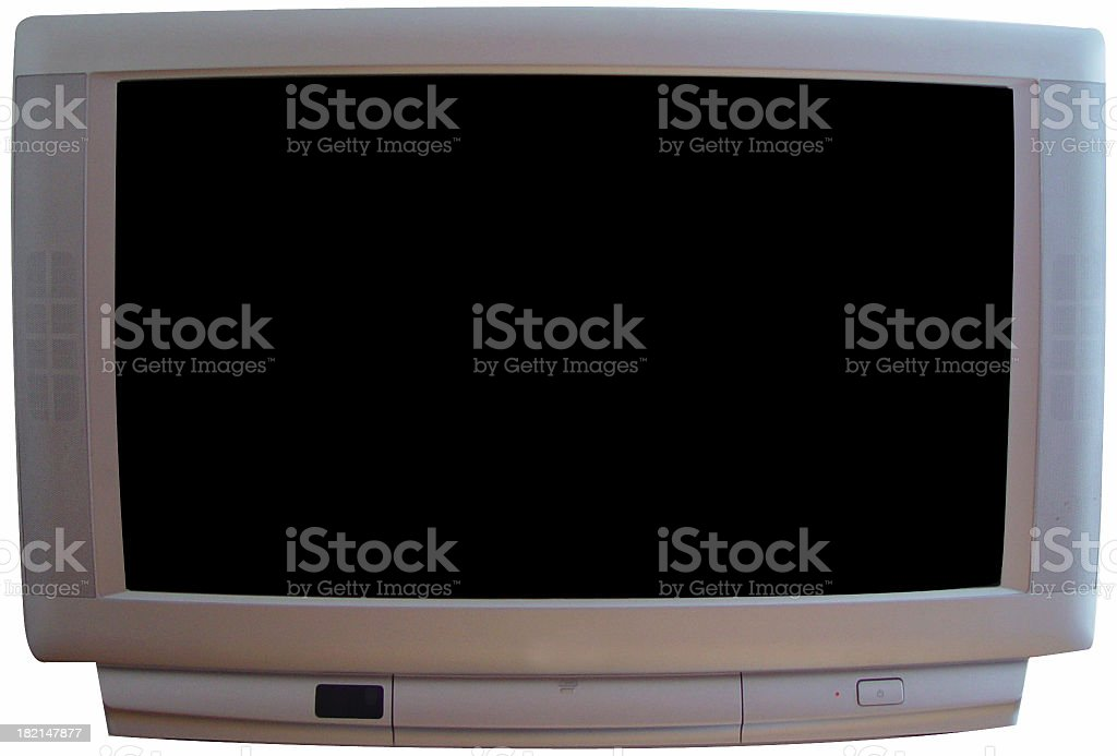 Widescreen Television royalty-free stock photo