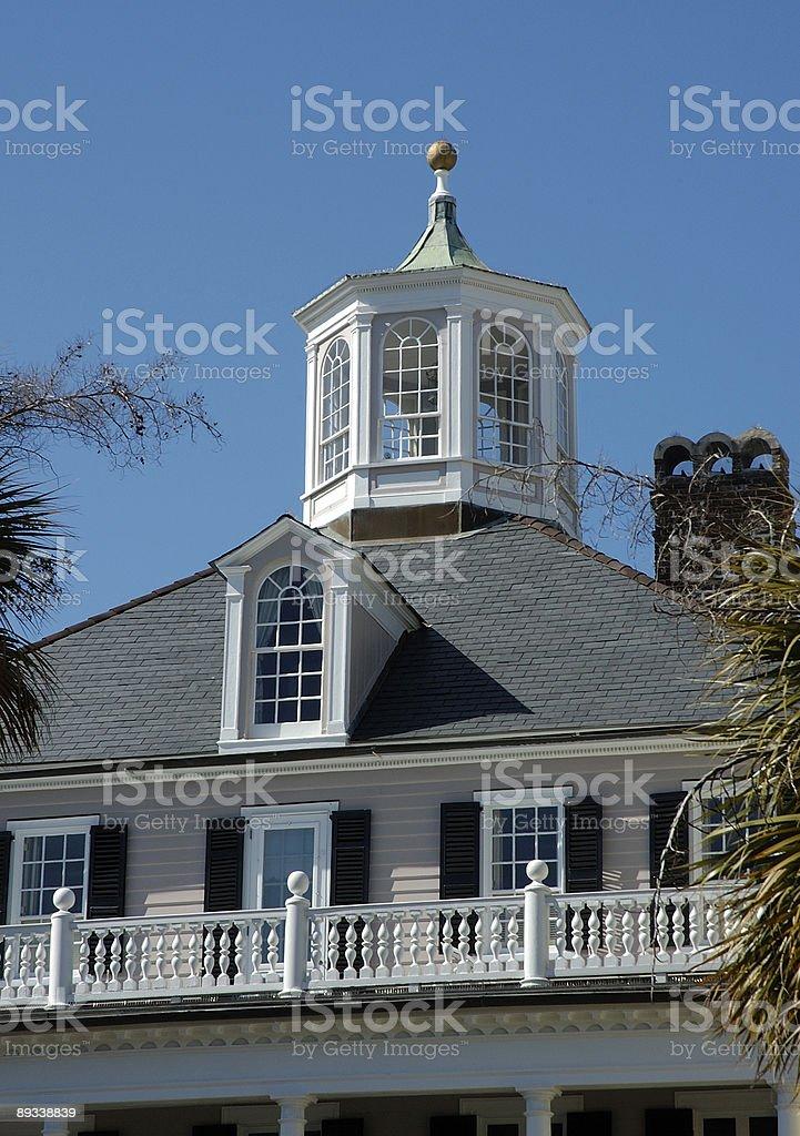 WIdows watch in Charleston, SC royalty-free stock photo