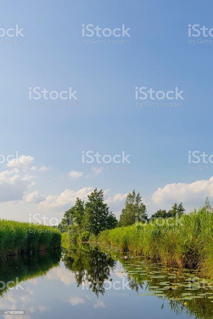 Wieden landscape royalty-free stock photo